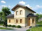 Проект удобного двухэтажного дома с цоколем
